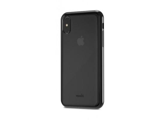 best website 03520 73a35 Moshi Vitros iPhone X Back Case (99MO103031) - Black