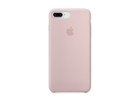 new product 7120a 5259d Apple Silicone Case For iPhone 7+/8+ (MQH22ZM/A) - Pink Sand