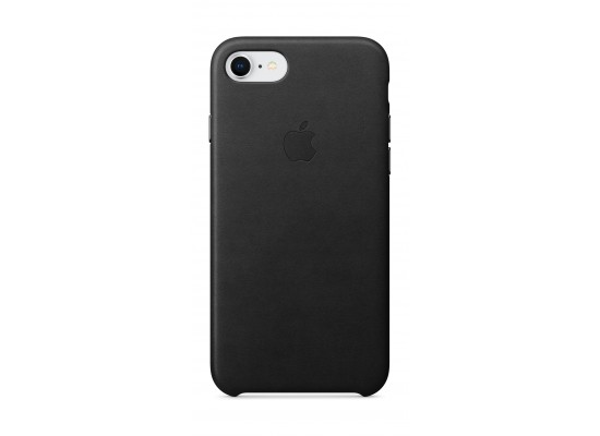 new products cd7aa b7a6e Apple Leather Case For iPhone 7/8 (MQH92ZM/A) - Black