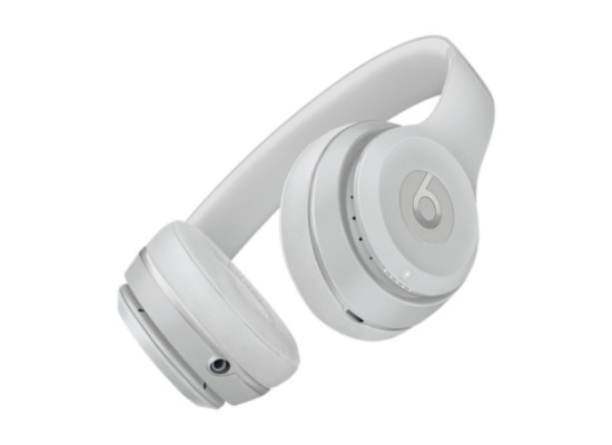 Beats Solo 3 Silver Wireless Headphones in Kuwait   Buy Online – Xcite