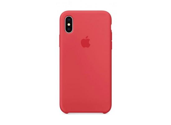 vestibilità classica 8c7c5 376cc Apple Silicone Case For iPhone X (MRG12ZM/A) - Red
