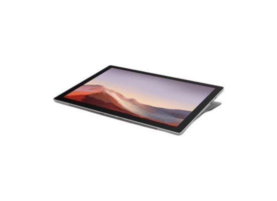 "Microsoft Surface Pro 7 Core i5 Ram 8GB SSD 128GB 12.3"" Touchscreen Convertible Laptop - Platinum"