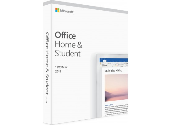 Microsoft Office: Home and Student 2019 1 User