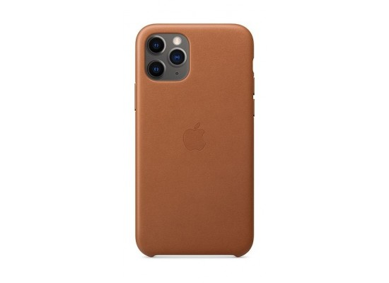 Apple iPhone 11 Pro Leather Case - Saddle Brown 2