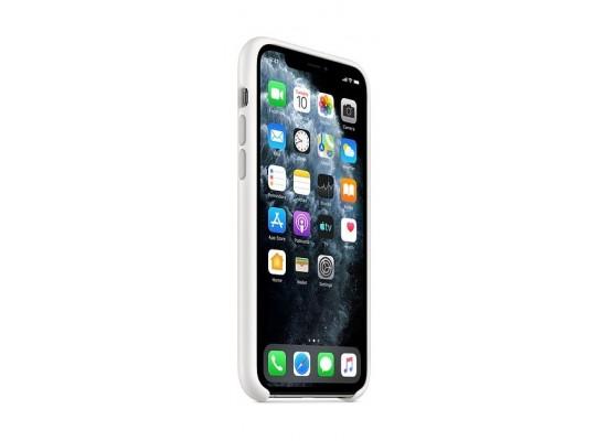 Apple iPhone 11 Pro Silicone Case - White 2