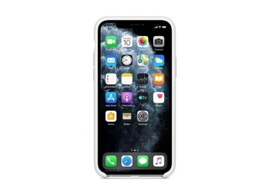 Apple iPhone 11 Pro Silicone Case - White 3