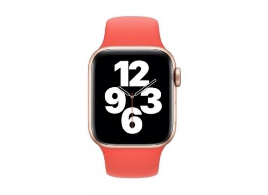 Apple Watch 44mm Sport Band - Pink Citrus