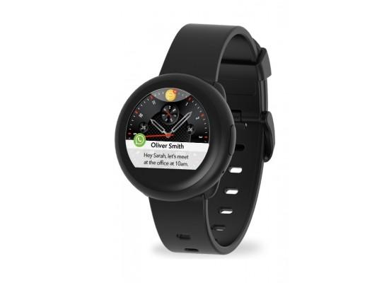 Mykronoz ZeRound3 Lite  Stylish Smartwatch - Black