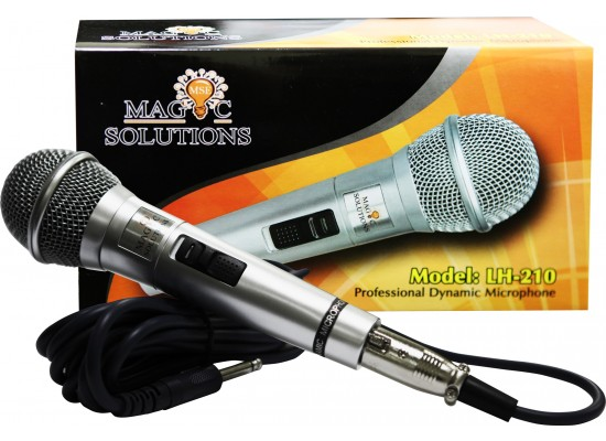 Magic Sing LH-210 Corded Microphone