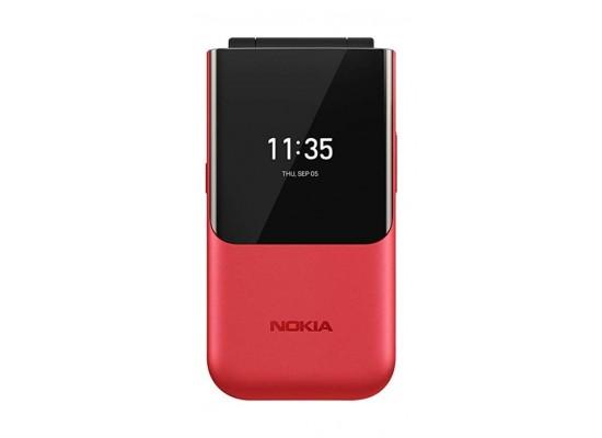 Nokia 2720 Flip 4GB Phone - Red