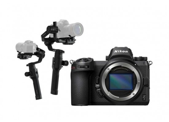 Nikon Z 7 Mirrorless Digital Camera (Body Only) + Dji Ronin-S- 3-Axis Stablizer For DSLR