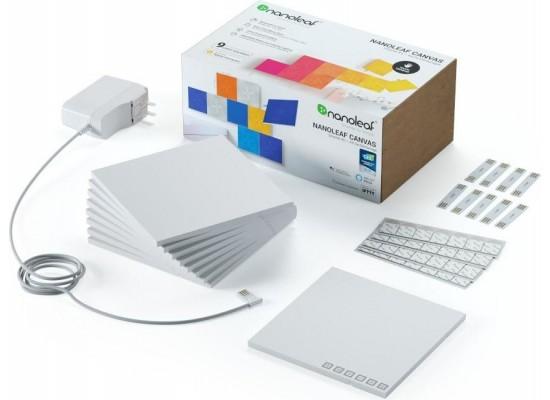 Nanoleaf 9-Packs Canvas Square Panels Smarter Kit (NL29-0002SW-9PK) - White