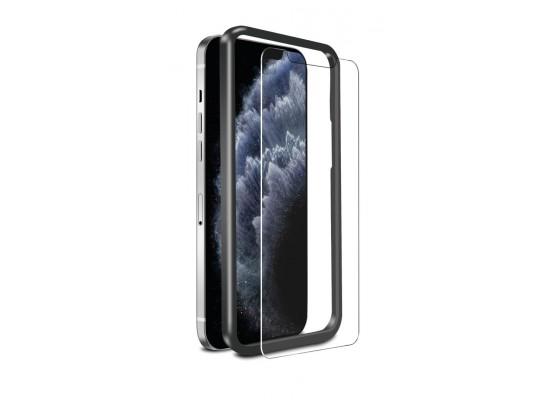 Baykron iPhone 12 Pro Max Antibacterial 2D Tempered Glass