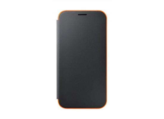 save off 5f88b d9418 Samsung Galaxy A5 2017 Neon Flip Cover (EF-FA520PBEGWW) - Black