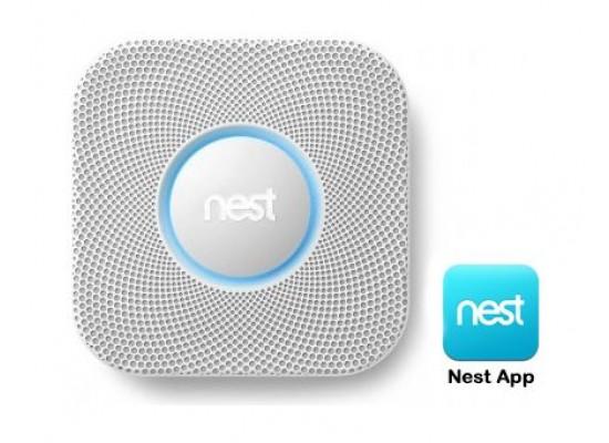Nest Smoke Alarm Sensor S2001BW - Grey