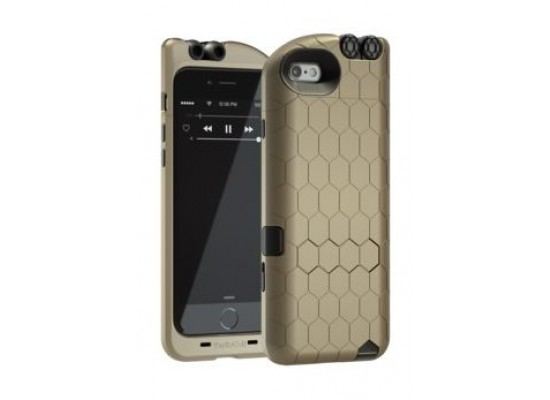 cheap for discount fc9d4 50337 Turtle Cell Retractable Headphone Case for iPhone 6 - Gold | Xcite ...
