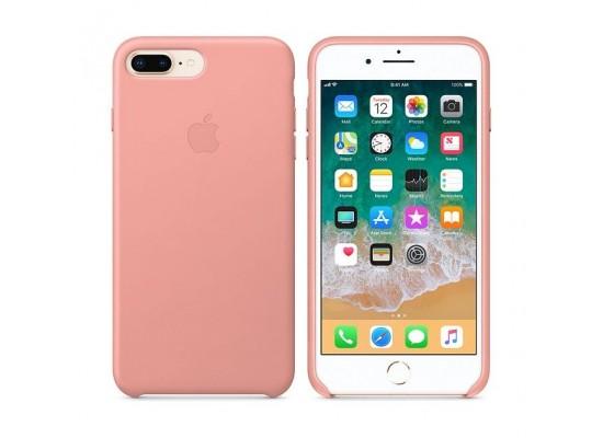 los angeles 478b6 170ca Apple iPhone 8 Plus/7 Plus Leather Case - Soft Pink