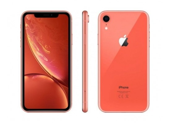 Apple iPhone XR 256GB Phone - Coral 1