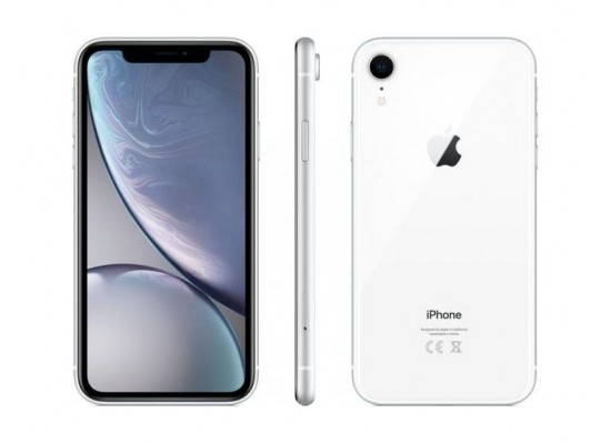 Apple iPhone XR 64GB Phone - White 2