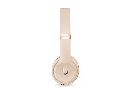 Beats Solo3 Wireless On-Ear Headphones - Satin Gold 4