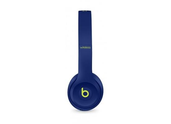 Beats Solo3 Wireless On-Ear Headphones Pop Collection – Pop Indigo 3