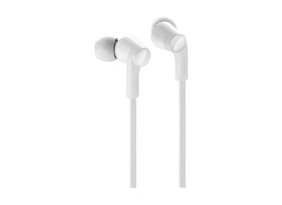 Belkin Rockstar Headphones with Lightning Connector - White 3