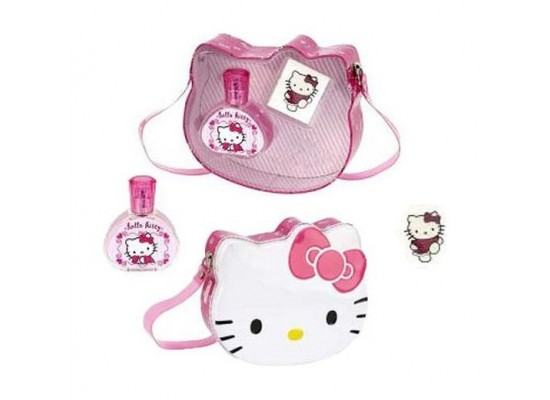 Cartoon Network Hello Kitty Metal Bag + 50ml Eau de Toilette + Adhesive