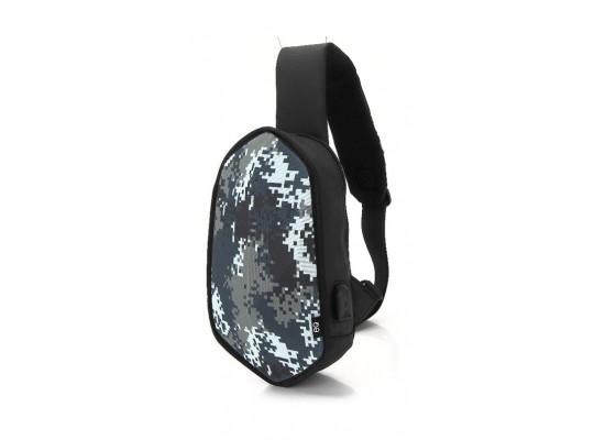EQ White Camouflage Backpack 4