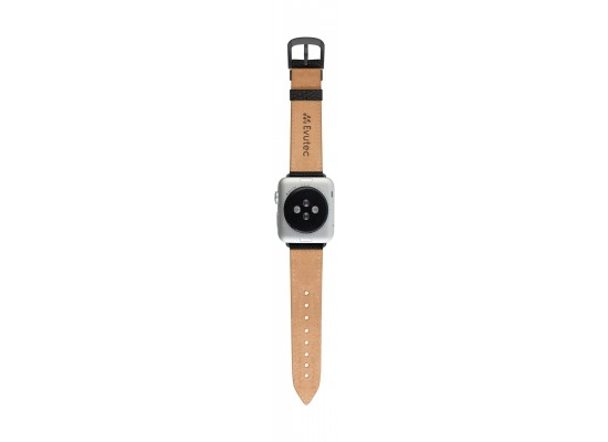 Evutec Northill Watch Band for Apple Watch 38mm - Black/Black 2