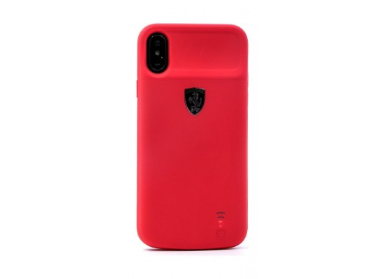 best sneakers 20eea 001fa Ferrari Full Cover Power Case for Apple iPhone X - Red