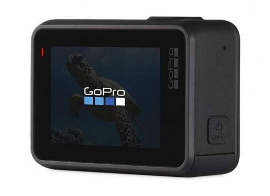 GoPro HERO7 Black Camera + GoPro 3-way 3 in 1 Mount + SanDisk 128GB Memory Card