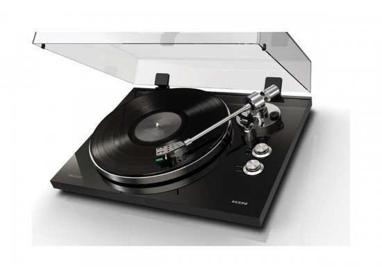 ION Pro500 BT High Performance Belt Drive Streaming Turntable - Black