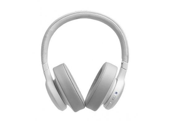 JBL Live 500BT Wireless Over-Ear Headphones - White 5