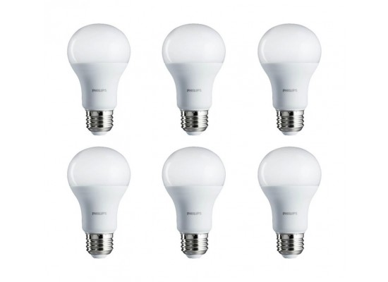 Philips 7W Cool Daylight LED Bulbs 6pcs