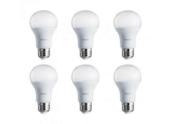 Philips 7W Cool Daylight LED Bulbs 6pcs