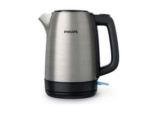فيليبس غلاية ماء، 2200 واط، 1.7 لتر، إستيل