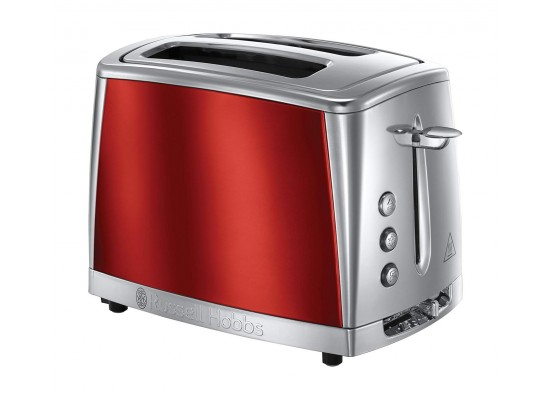 Russell Hobbs 2-Slice Toaster 1550W - Luna Red