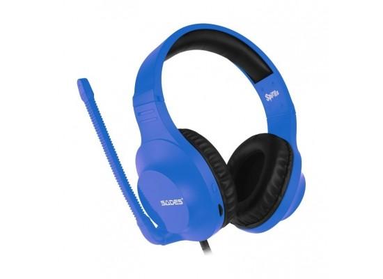 Sades Spirits Wired Gaming Headset - Blue