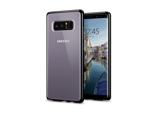 quality design 091a1 96734 Spigen Ultra Hybrid Case for Galaxy Note 8 - Jet Black