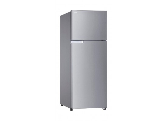 Toshiba 18 Cft. Top Freezer Refrigerator (GR-A565UBZ) - Stainless Steel