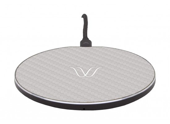 Woodie Milano Solo Wireless Charger - Carbon Ash 1