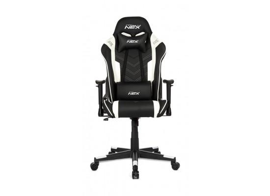 DXRacer NEX Gaming Chair - Black/White