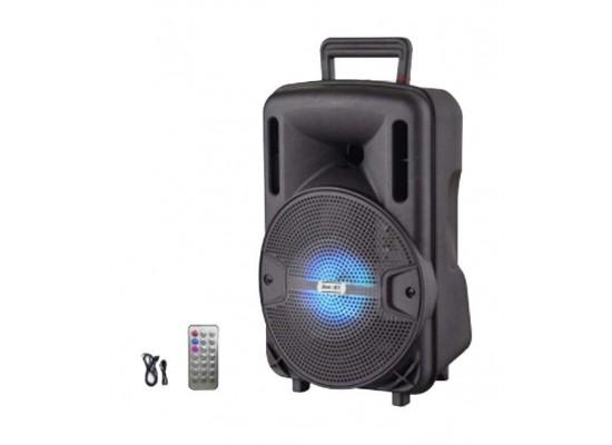 NHE 1000W 8-inch Wireless Bluetooth Trolley Speaker (LIGE-X1) - Black