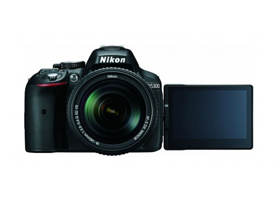 Nikon D5300 24.2MP DSLR Camera Wifi with 18-140mm Lens