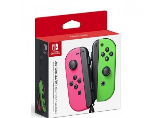Nintendo Switch Joycon L/R Controller - Green/Pink
