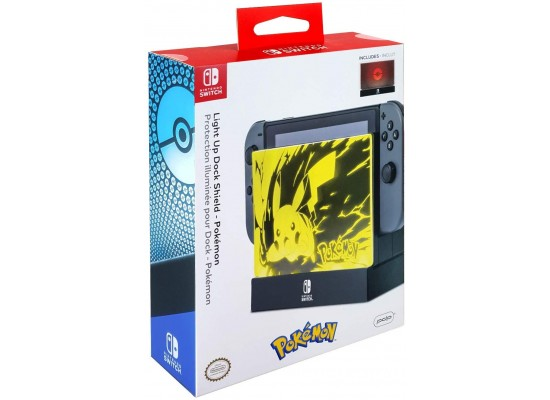 PDP Light Up Dock Shield Pokemon For Nintendo Switch