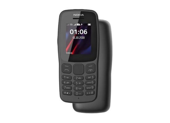 Nokia 106 4MB Phone - Grey