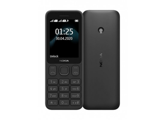 Nokia 125 TA-1253 4MB 2G Phone - Black