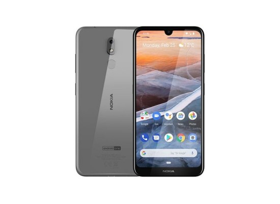 Nokia 3.2 16GB Dual Sim Phone - Steel