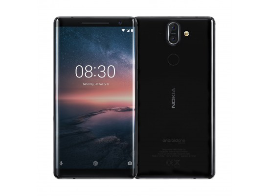 Nokia 8 Sirocco 128GB Phone - Black